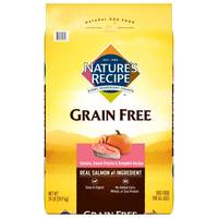 Nature's Recipe Grain Free Salmon, Sweet Potato & Pumpkin Dry Dog Food from Blain's Farm and Fleet