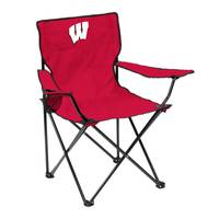 Logo Chairs University of Wisconsin Quad Chair from Blain's Farm and Fleet