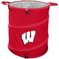 Logo Chairs University of Wisconsin Collapsible 3-in-1 Cooler from Blain's Farm and Fleet
