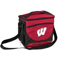 Logo Chairs University of Wisconsin Can Cooler from Blain's Farm and Fleet