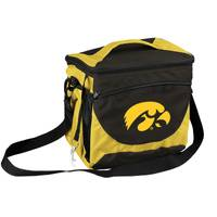 Logo Chairs University of Iowa Can Cooler from Blain's Farm and Fleet