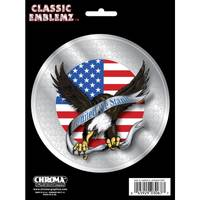 Chroma American Eagle Classic Emblemz Decal from Blain's Farm and Fleet