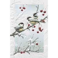 Pumpernickel Press Cheeky Chickadees Christmas Cards from Blain's Farm and Fleet