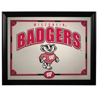 The Memory Company University of Wisconsin Badgers Printed Mirror from Blain's Farm and Fleet