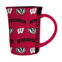 The Memory Company Wisconsin Badgers Line Up Mug from Blain's Farm and Fleet