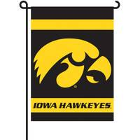 BSI Products University of Iowa Hawkeyes Two Sided Garden Flags from Blain's Farm and Fleet