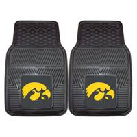 FANMATS University of Iowa Heavy Duty 2-Piece Vinyl Car Mats from Blain's Farm and Fleet