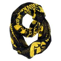 Little Earth Iowa Hawkeyes Sheer Infinity Scarf from Blain's Farm and Fleet