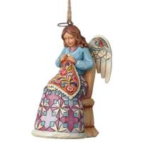 Jim Shore Sewing Angel Ornament from Blain's Farm and Fleet