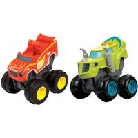 Fisher-Price Nickelodeon Blaze and the Monster Machines Slam & Go Stripes Assortment from Blain's Farm and Fleet