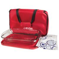 Anchor 4 Piece Essentials Bakeware Tote Set from Blain's Farm and Fleet