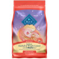 Blue Buffalo Life Protection Indoor Hairball & Weight Control Adult Cat Food from Blain's Farm and Fleet