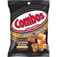 Combos Sweet & Salty Caramel Creme Pretzel Snacks from Blain's Farm and Fleet