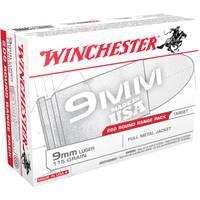 Winchester Ammo Centerfire Full Metal Box 9mm Luger 115 Handgun Round Box from Blain's Farm and Fleet