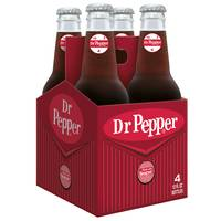 Dr. Pepper Real Sugar - 4 Pack from Blain's Farm and Fleet