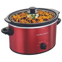 Hamilton Beach Oval Slow Cooker from Blain's Farm and Fleet