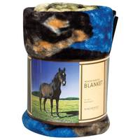 Northpoint Trading Black Beauty Raschel Throw from Blain's Farm and Fleet