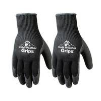Wells Lamont Men's Winter Weight Latex Coated Palm Glove 2-Pack from Blain's Farm and Fleet