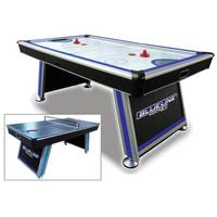 Triumph Sports Blue Line Air Powered Hockey Table with Table Tennis Top from Blain's Farm and Fleet