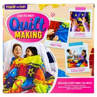 Made By Me Easy To Knot Quilt Making Kit from Blain's Farm and Fleet