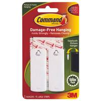 Command Sawtooth Picture Hanger Value Pack from Blain's Farm and Fleet