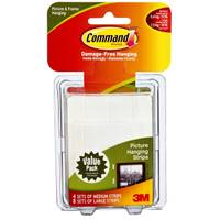 Command Medium and Large Picture Hanging Strips from Blain's Farm and Fleet