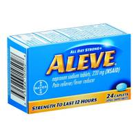 Aleve Pain Relief & Fever Reducer Caplets from Blain's Farm and Fleet