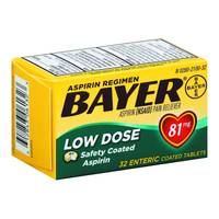 Bayer Low Dose Safety Coated Aspirin Tablets from Blain's Farm and Fleet