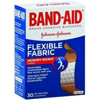 Band-Aid Flexible Fabric Adhesive Bandages from Blain's Farm and Fleet