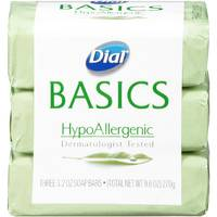 Dial Basic HypoAllergenic Bar Soap 3 Pack from Blain's Farm and Fleet
