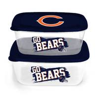 NFL Chicago Bears 2-Pack Food Storage Containers from Blain's Farm and Fleet
