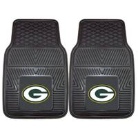 FANMATS Green Bay Packers Heavy Duty Vinyl Car Mats from Blain's Farm and Fleet