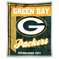 The Northwest Company Green Bay Packers Mink Sherpa Throw from Blain's Farm and Fleet