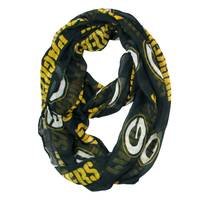 Little Earth Green Bay Packers Sheer Infinity Scarf from Blain's Farm and Fleet