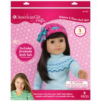 American Girl Crafts Ribbon & Stars Doll Hat from Blain's Farm and Fleet