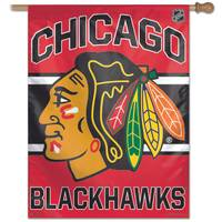 NHL Chicago Blackhawks Vertical Banner from Blain's Farm and Fleet