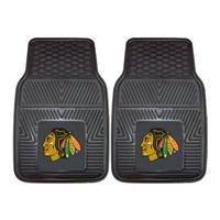 FANMATS Chicago Blackhawks Vinyl Car Mats from Blain's Farm and Fleet
