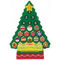 Melissa & Doug Countdown to Christmas Wooden Advent Calendar from Blain's Farm and Fleet