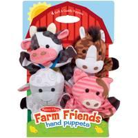 Melissa & Doug Farm Friends Hand Puppets Assortment from Blain's Farm and Fleet