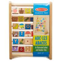 Melissa & Doug ABC-123 Abacus from Blain's Farm and Fleet