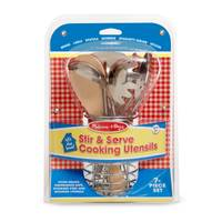 Melissa & Doug Let's Play House! Stir & Serve Cooking Utensils from Blain's Farm and Fleet