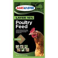 Agrimaster 50 lb Layer 16% Pelleted Poultry Feed from Blain's Farm and Fleet
