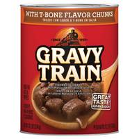 Gravy Train T-Bone Chunks In Gravy Dog Food from Blain's Farm and Fleet