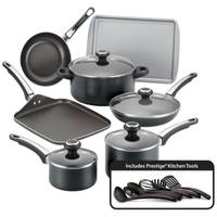 Farberware High Performance 17 Piece Cookware Set from Blain's Farm and Fleet