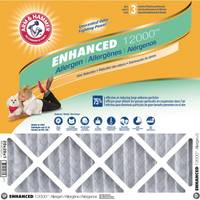Arm & Hammer Odor, Allergen & Pet Dander Control Electrostatic Air Filter from Blain's Farm and Fleet