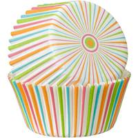 Wilton Pinstripe Citrus 75 Count Baking Cups from Blain's Farm and Fleet