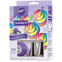 Wilton Color Swirl Decorating Set from Blain's Farm and Fleet