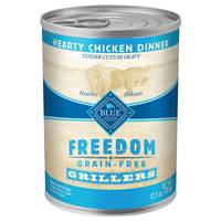 Blue Buffalo Life Protection Freedom Grain Free Grillers Hearty Chicken Dinner Wet Dog Food from Blain's Farm and Fleet