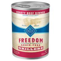 Blue Buffalo Life Protection Freedom Grain Free Grillers Hearty Beef Dinner Wet Dog Food from Blain's Farm and Fleet