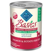Blue Buffalo Life Protection Basics Grain Free Salmon & Potato Dog Can Food from Blain's Farm and Fleet